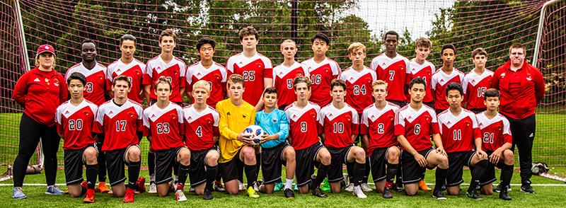 Đội hình học sinh bóng đá của trườngSouth Kent School