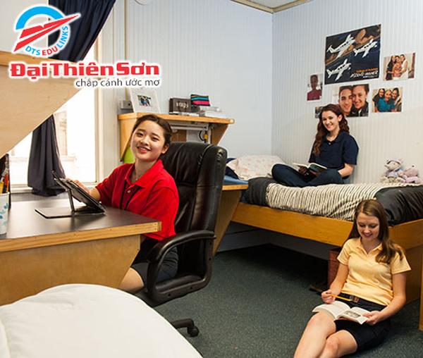 Phòng ký túc xá tại Florida Preparatory Academy - Du học Đại Thiên Sơn DTS