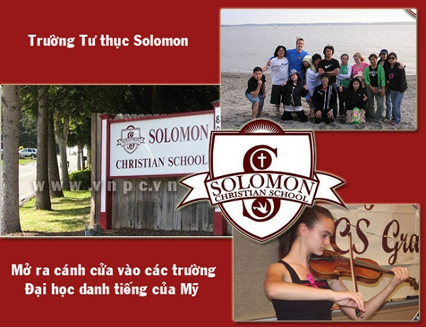 Du hoc trung hoc Solomon Christian, Du hoc trung hoc pho thong My